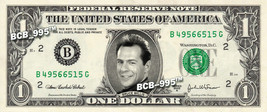 BRUCE WILLIS on REAL Dollar Bill - Collectible Celebrity Custom Cash Mon... - $3.33