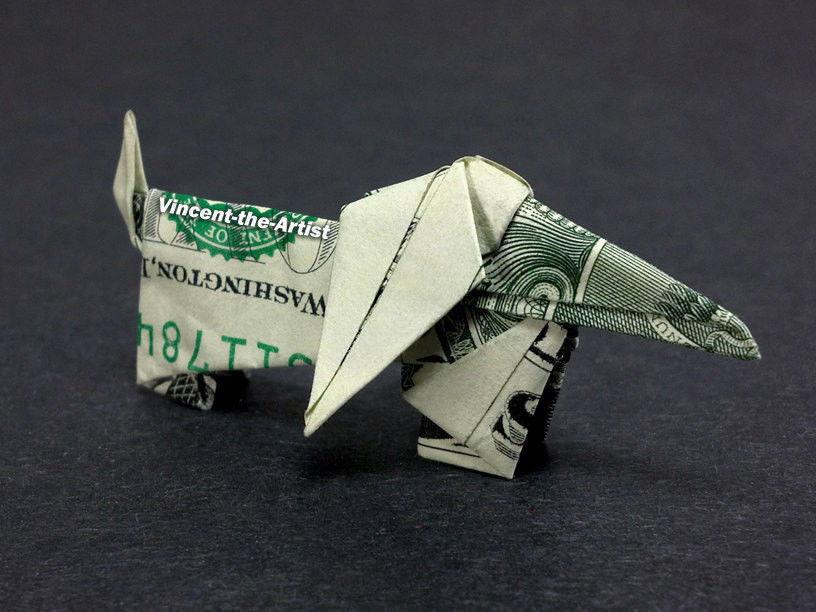 Money Origami Butterfly - Dollar Bill Art Stock Photo - Image of ... | 612x816