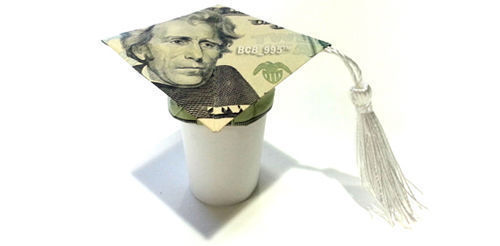 Money Mortarboard - Make-Origami.com | 246x500
