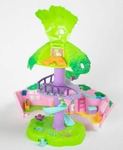 POLLY POCKET TREEHOUSE JUNGLE PETS TREE PLAYSET - $14.84