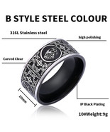 Beier 316L Stainless Steel Game of Thrones Four families high quality fo... - $16.76