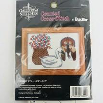 Bucilla 33020 Desert Still Life Donna Gallagher Counted Cross Stitch 5x7 Unopen - $13.85