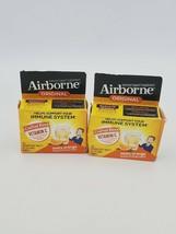 X2 Airborne Original Zesty Orange 20 Tabs Vitamin C Immune System Support EXP 12 - $18.80