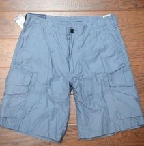 Polo Ralph Lauren Men's Blue Berry Cotton Chino Cargo Shorts W32 - $58.07