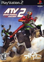 ATV Quad Power Racing 2 PS2 Playstation Game PreOwned Case Manual Artwork - $6.59