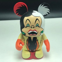VINYLMATION WALT DISNEY vinyl pop toy figure figurine 101 Dalmatians Cruella Vil - $17.82