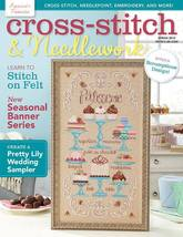 Cross Stitch and Needlework Spring 2015 magazin... - $8.00