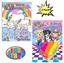 Lisa Frank Coloring And Activity Book Set (2 Books - 96 Pages) - $9.03