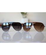 Vintage Aviator Sunglasses Maroon/ Ultra Marine Blue LOT OF 2 PIECES - $22.00