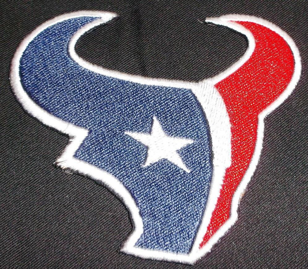 Houston Texans Logo  Iron On Patch