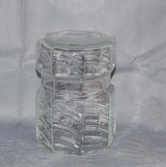"Dansk Summerhouse 6"" Glass Storage Jar"