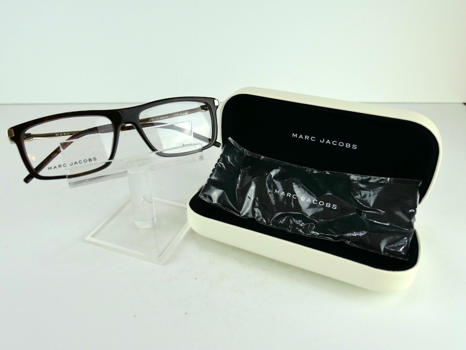 Primary image for Marc by Marc Jacobs MARC 142 (QUM) Dark Havana 55 x 16 Eyeglass Frames