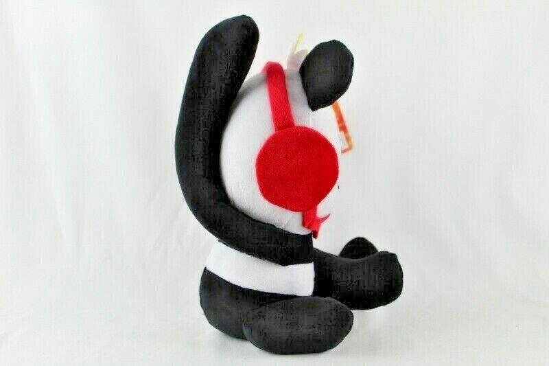 "Ryans World 10"" Plush Panda New With Tags Black White Red Pocket Watch  image 5"