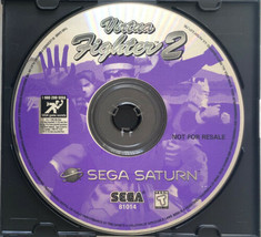 ⭐ Virtua Fighter 2 (Sega Saturn 1996) AUTHENTIC Game Disc ONLY Tested Works ⭐ - $9.99