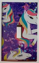 Siwa Unicorn Light Switch Toggle GFI Outlet wall Cover Plate Home Decor image 1