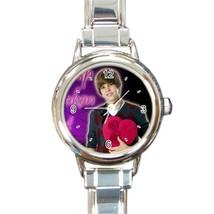 New Hot Justin Bieber Women Love Round Italian Charm Watch wristwatch Gift - $8.50