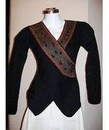 Blouse, Top knitted with pure Alpaca wool - $237.00