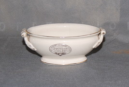 Antique English Miniature Pottery Tureen Miss Headdon's Housewifery Lessons - $125.00