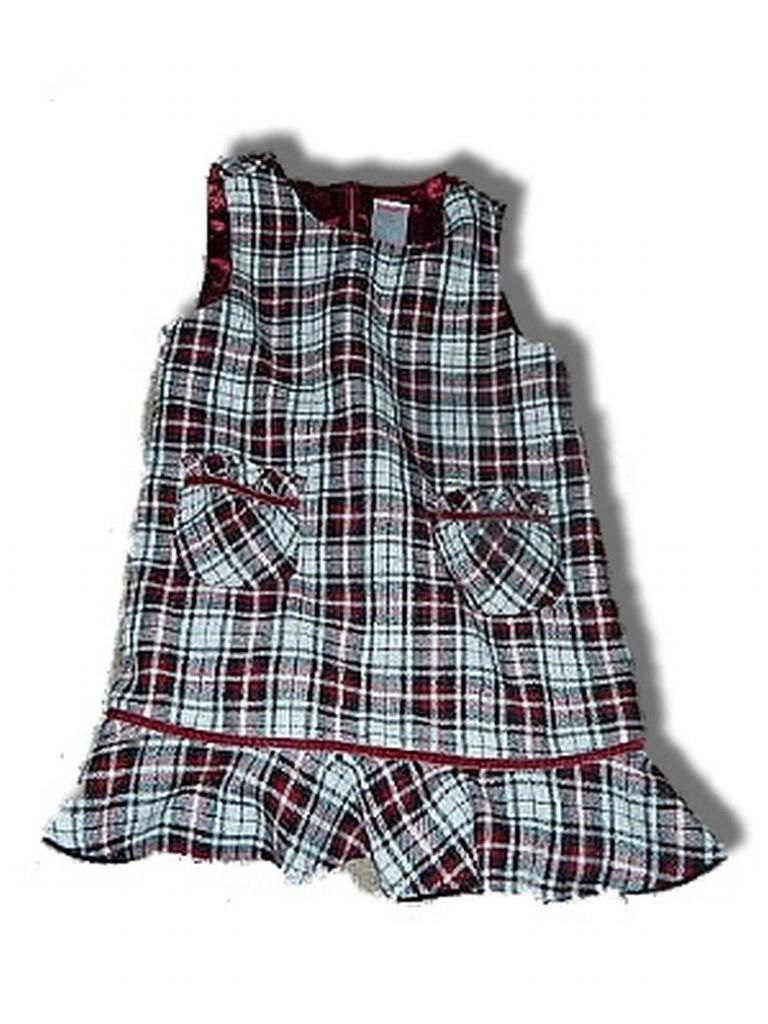 Traditions plaid jumper dress sz 2t holidays christmas dresses