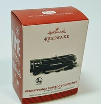 Pennsylvania Torpedo Locomotive Lionel Trains #19 2014 Hallmark Keepsake - $14.20