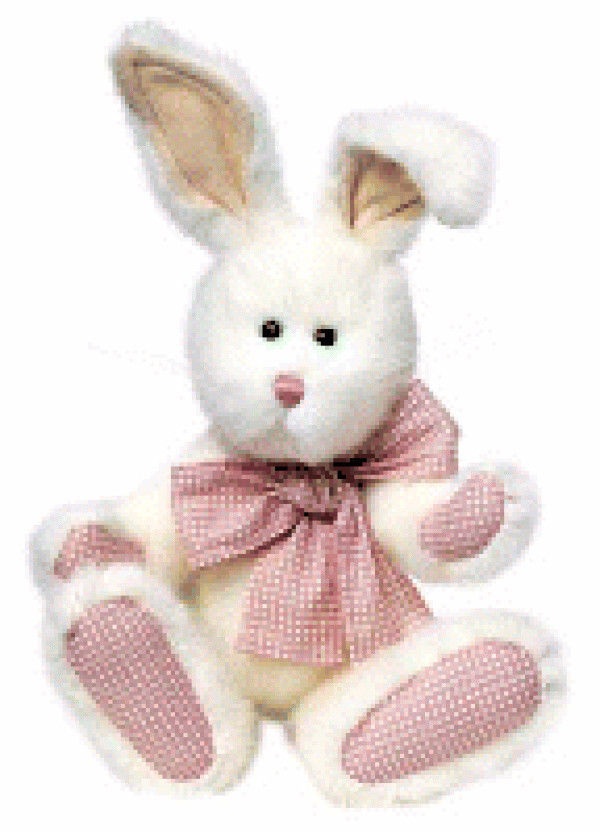 """Boyds Bears """"Peaches Thumpster"""" 10"""" PLUSH Bunny- #52010-06 - NWT - Retired - $19.99"""