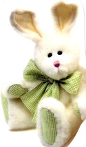 "Boyds Bears ""Keylime Thumpster"" 10"" PLUSH Bunny- #52010-08 - NWT - Retired - $19.99"