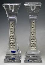 Crystal & Sterling Silver Candlesticks 3062898 [Kitchen] - $167.81