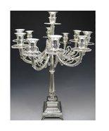 Silver Plated Candelabra 11 Branch [Kitchen] - $177.12