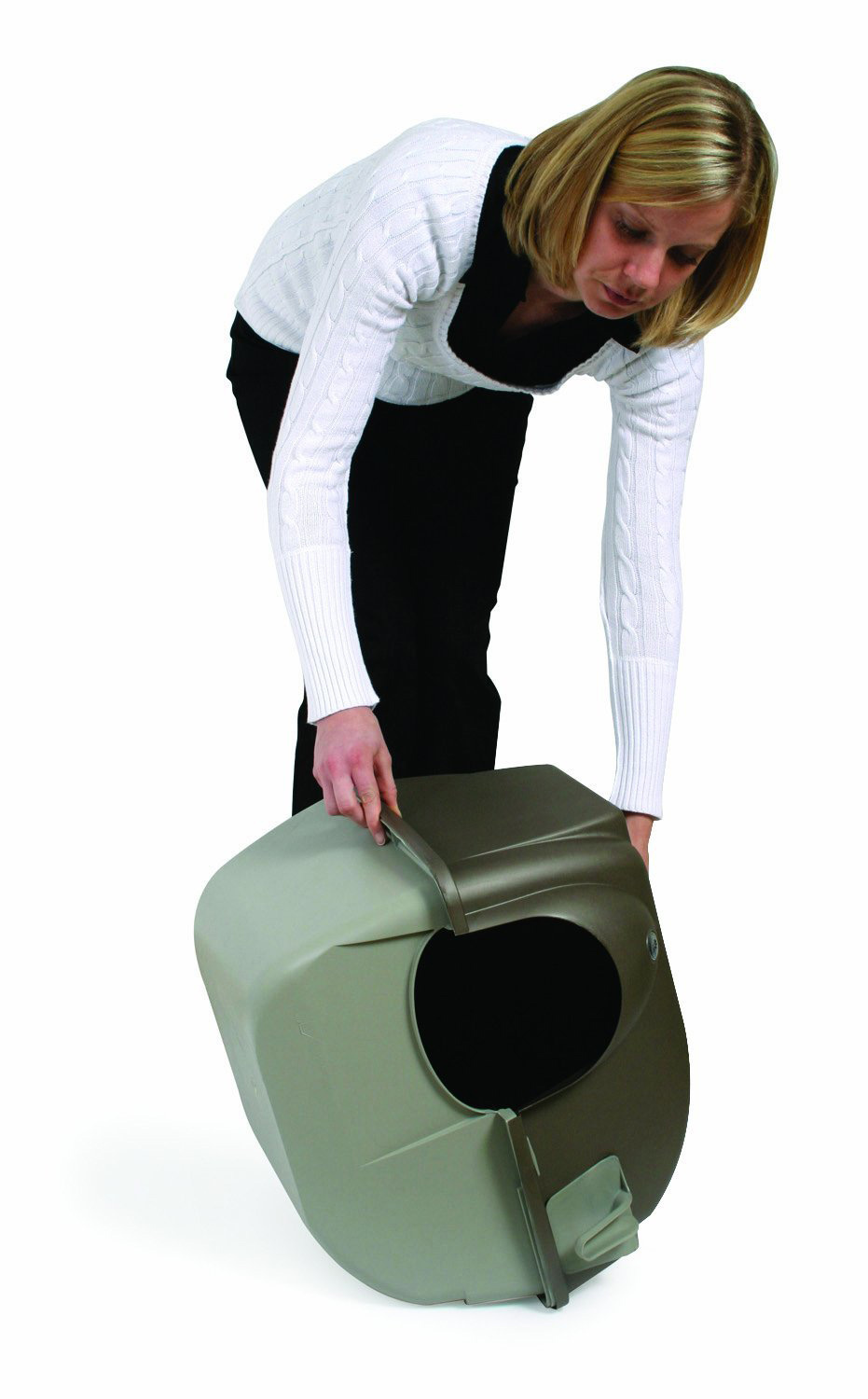 Self Cleaning Litter Box With Built In Scooper For A
