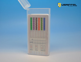 5 Pack 10 Panel Instant Saliva Drug Testing Kit Tests 10 Drugs - Free Shipping - $45.99