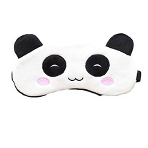 BUYITNOW Cute Animal Eye Mask Plush Sleeping Blindfold Eyeshade for Kids... - $16.70