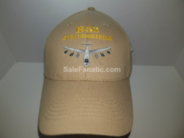 Made In Usa - Usaf B-52 Stratofortress Buff Bomber Plane Hat Khaki Baseball Cap - $13.95