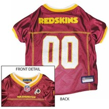 Washington Redskins Dog Jersey MEDIUM * Home Game Colors NFL Football Pe... - €21,87 EUR