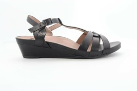 Abeo Irma Sandals Black  Size US 8 Neutral Footbed (EPB )4326 - $89.00