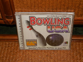 Bowling Usa Software Cd Rom Windows Software Complete Only As Pictured Used - $2.95