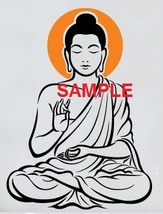 SUN BUDDHA CROSS STITCH CHART - $10.00