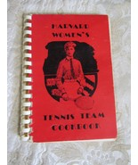 Harvard Women's Tennis Team Spiral Bound Cookbook First Edition 1980 - $19.82