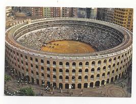Spain Barcelona Bull Fighting Arena Bullring Vintage Postcard 4X6 - $5.69