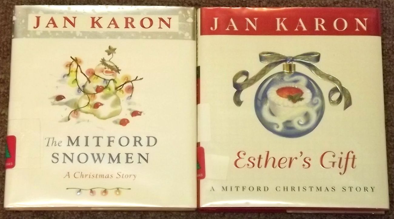 The Mitford Snowmen and Esther's Gift by Jan Karon