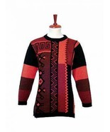 Sweater, Jumper knitted of pure Baby alpacawool with crew ne - $162.00