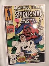 #213 Marvel Tales Spider-Man The Punisher 1988  Marvel Comics C229 - £3.57 GBP