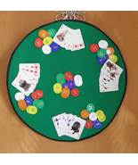 Hand Made One of A Kind Poker Wall Hanging - $75.00