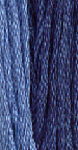 Presidential Blue (0260) 6 strand hand-dyed cotton floss Gentle Art Samp... - $2.15