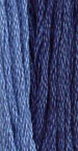 Presidential Blue (0260) 6 strand hand-dyed cotton floss Gentle Art Sampler  - $2.15