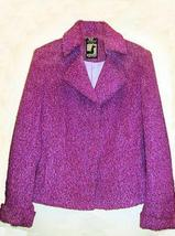 Pink Jacket,Blazer made of alpacawool fabric,outerwear - $284.00
