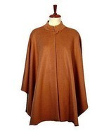 Brown Poncho Cape,made of  Babyalpaca wool - €291,64 EUR