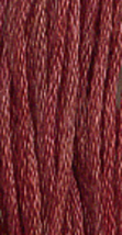 Old Red Paint (7005) 6 strand hand-dyed cotton floss Gentle Art Sampler Threads - $2.15