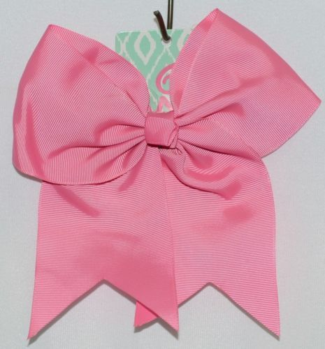WB M5000HTPK Hot Pink Colored Grosgrain Hair Bow Alligator Clip