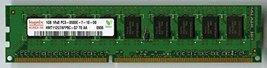 Hynix HMT112U7AFP8C-G7 1Gb PC3-8500E DDR3 1066 CL7 1Rx8 Ecc Only - $16.22