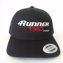 New TRD PRO TOYOTA 4RUNNER Hat Cap BLACK YUPOONG EMBROIDERED - $19.99